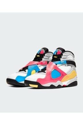 Nike Jordan 8 Sp Retro Se White Multicolor