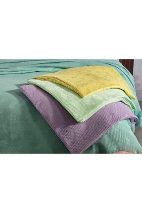 Doqu Home Doqu Hıomeshine Çift Kişilik Pike - Sarı Shine Çift Kişilik Pike - Sarı