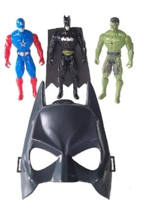 Batman Kaptan Amerika Set