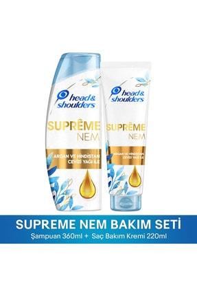 Head&Shoulders Head & ShouldersSupremeNem Argan ve Hindistan Cevizi Yağı Şampuan 360 ml ve Saç Kremi 220 ml