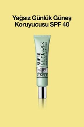 Clinique Yağsız Günlük Güneş Koruyucusu - Super City Block Sheer Spf 40 40 ml 020714247362