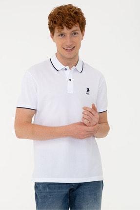 U.S. Polo Assn. Erkek Beyaz Tişört
