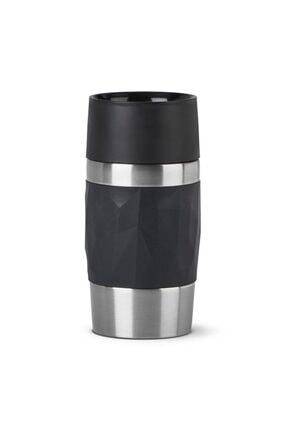 TEFAL Travel Mug Compact 0,3 L Termos - Siyah