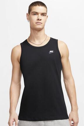 Nike Sportwear Essential Tank Top Siyah Erkek Spor Atlet