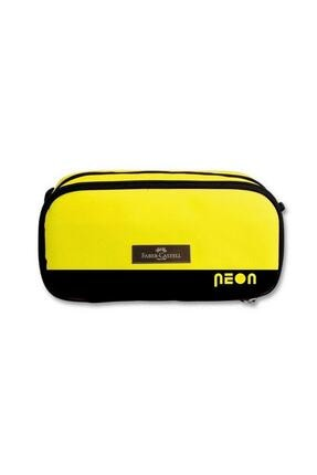 Faber Castell Extra Space Kalem Çantası Sarı Renk