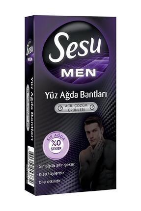 Sesu Men Yüz Ağda Bantları Erkeklere Özel 20 Li