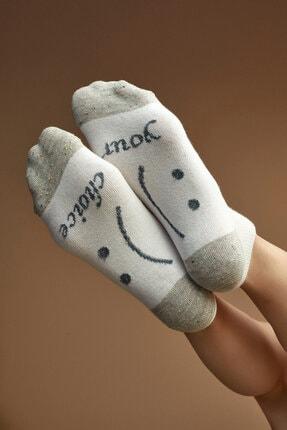 Penti Beyaz Choise Patik Çorap