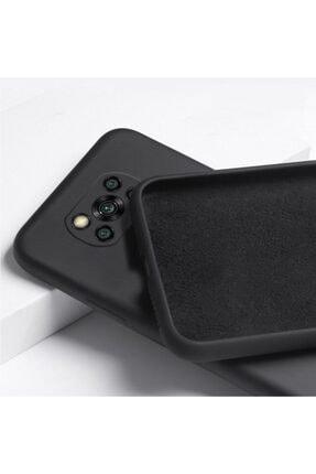 Teknoçeri Xiaomi Poco X3 Nfc / X3 Pro Uyumlu Içi Kadife Kamera Korumalı Silikon Kılıf