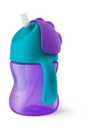 Philips Avent Avent Scf796/02 Desenli Pipetli Bardak 200 ml Kız Mor