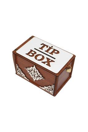 ŞKL Ahşap Tip Box Kutusu Kumbara Bahşiş Kutusu