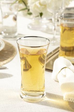 English Home Dina Cam 6'lı Meşrubat Bardağı 340 Ml Gold