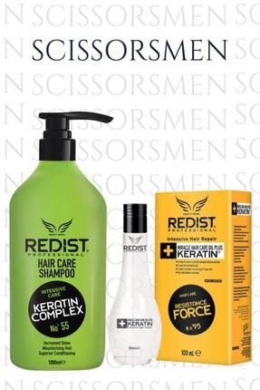 Redist Keratinli Saç Bakım Şampuanı + Keratin Yağı 100 Ml