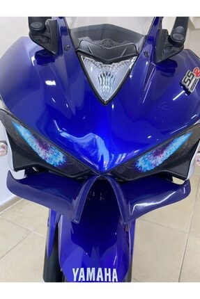 Yamaha Yzf R25-cbr250r Winglet-far Altı-gaga Far Kaşı Mavi
