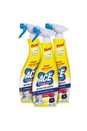 ACE Ultra Köpük Çamaşır Susuz Mutfak 700mlx3