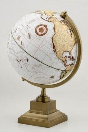 MEHAN E-STORE 360 Derece Dönen Dekoratif Dünya Yer Küre Okul Gereci Harita