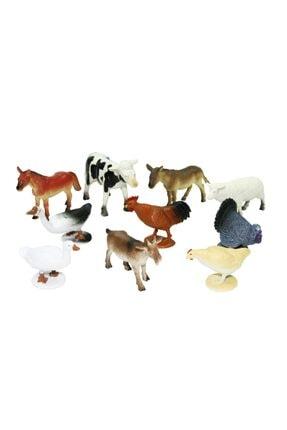 Vardem Kutulu 10 Parça Hayvan Seti Çiftlik Hayvanları