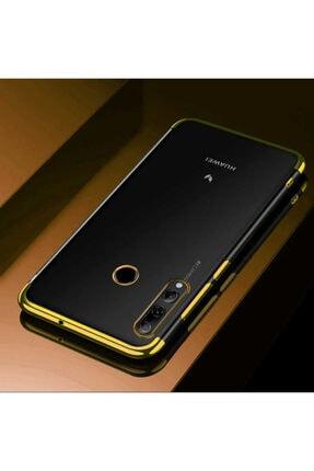 Huawei Y9 Prime 2019 Kılıf Kenarları Lazer Boyalı Yumuşak Silikon Kapak