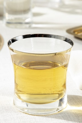English Home Dina Cam 6'lı Meşrubat Bardağı 280 Ml Gold