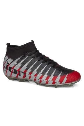 rottenchill Erkek Kırmızı Siyah Çoraplı Krampon