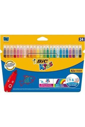 Bic Kids Kid Couleur Yıkanabilir Keçeli Boya Kalemi 24 Renk 841800