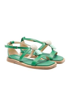 Desa Yeşil Racine Kadın Sandalet