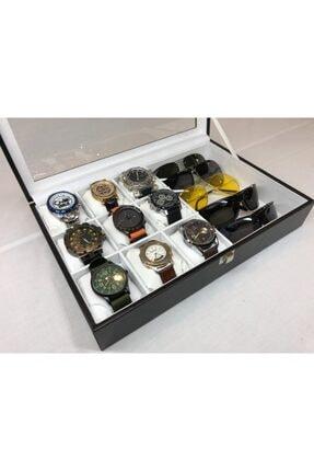 Axe 9 Standlı Bayanlara Özel Saat Bileklik Gözlük Kutusu