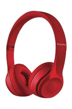 Piranha 2201 Kablosuz Bluetooth Kulaklık Kırmızı