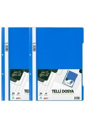 Gen-Of Mavi Telli Dosya A4 100 Lü