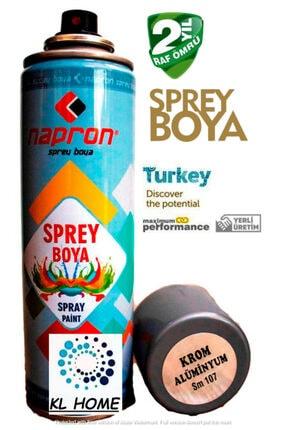 Napron Krom Alüminyum Yaldız Sprey Boya Tam Dolu Paranızın Karşılığı Kl Home 200ml