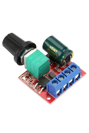 ZAUSS 5a Pwm Dc Motor Hız Kontrol Devresi Dimmer 4.5-35v 90w