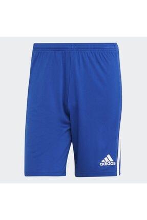 adidas Squadra 21 Erkek Mavi Spor Şort gk9153