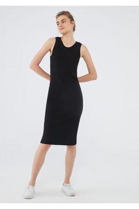 Mavi Siyah Triko Elbise 171513-900