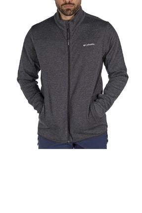 Columbia Basic Logo Track Top Gri Sweatshirt Cs0031-012