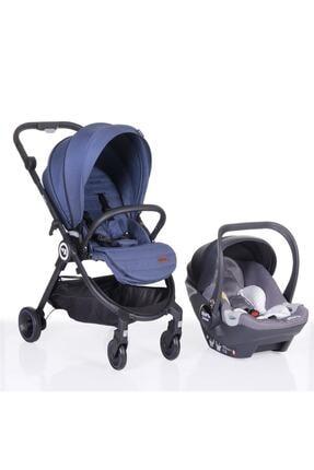 Kraft Onyx Travel Sistem Bebek Arabası Mavi
