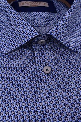 Ottomoda Erkek Battal Baskılı Kısa Kollu Gömlek