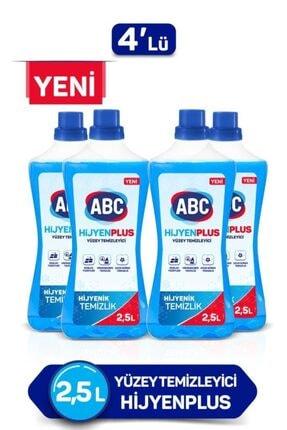 ABC Yüzey Temizleyici Hijyen Plus 2,5l X 4