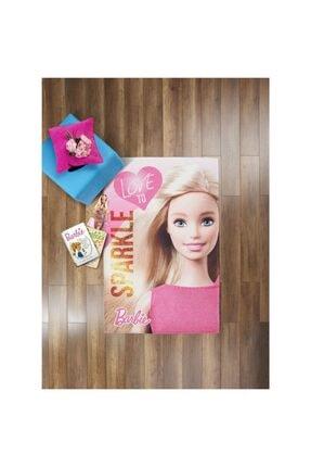 Taç 120*180 Barbie Sparkle Pes Halı Lisanslı