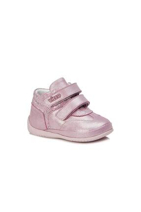 Vicco Adrian Metalik Kız Ilk Adım Pembe Günlük Ayakkabı