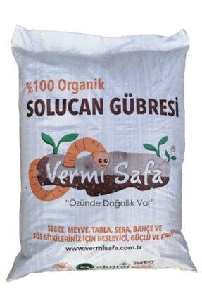 Vermisafa %100 Organik 20kg Vermisafa Katı Solucan Gübresi