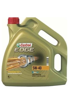 CASTROL Edge 5w40 4 Litre ( Üretim Yılı: 2019)