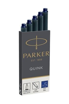 Parker Quink 5li Kartuş Mavi 1950384