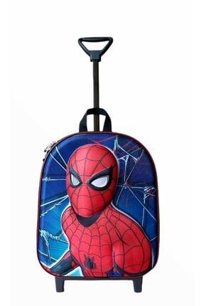 Hızırım Spiderman Kreş Anaokulu Ilkokul Çekçekli Çocuk Sırt Çantası
