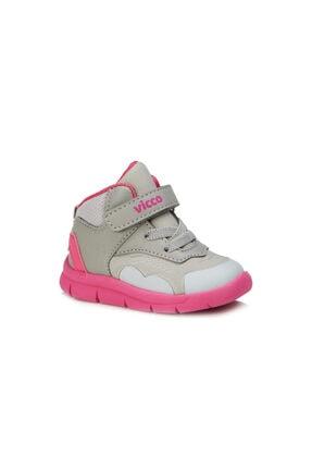 Vicco Nano Hafif Kız Ilk Adım Gri/fuşya Günlük Ayakkabı