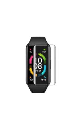 Huawei Band 6 Çizilme Önleyici Birebir Uyumlu Slim Ekran Koruyucu