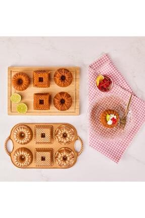 Emsan Griss One&six Gold Kek Kalıbı