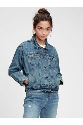 GAP Genç Kız   Teen Oversize Denim Ceket