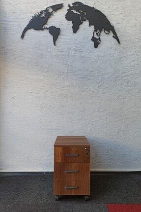 Allegro Ofis Barok Ceviz Keson