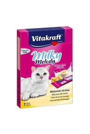 Vitakraft Milky Melody Süt Ve Peynirli Sıvı Kedi Ödülü 7x10 Gr