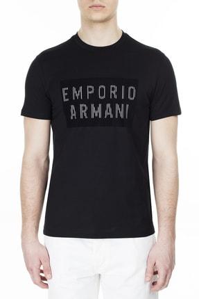 Emporio Armani Erkek Siyah T Shirt 3h1tb7 1j30z 0003