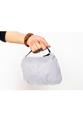 Anticor Unisex Beyaz Koruyucu Tulum Yıkanabilir Ağız Filtreli Eldivenli ve Çanta Modül